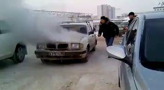 Волга горит