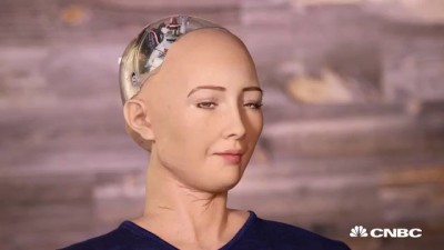 Hot Robot At SXSW Says She Wants To Destroy Humans   The Pulse   CNBC