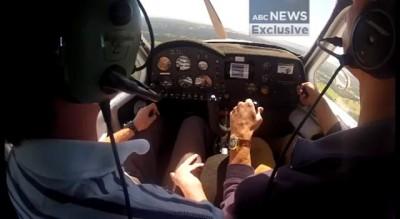 Австралийцы в падающем самолете