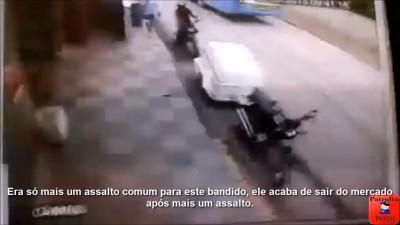 Наваляли грабителю