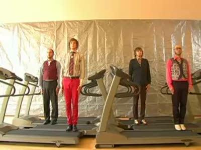 OK GO on Treadmills