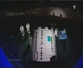 Hasta la vista Oleksandr Ponomaryov Ukraine Eurovision 2003