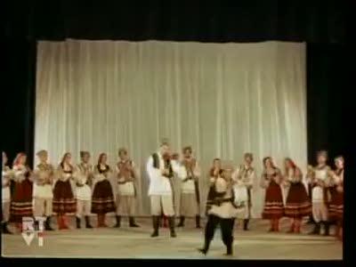 """Молдавский народный танец из фильма """"Лиана"""" 1955г"""