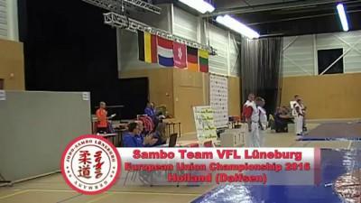 Sambo Team VFL Lüneburg - European Union Championship 2016 Holland (Dalfsen)