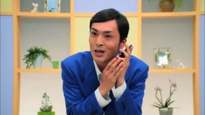 Японская реклама смартфона -1