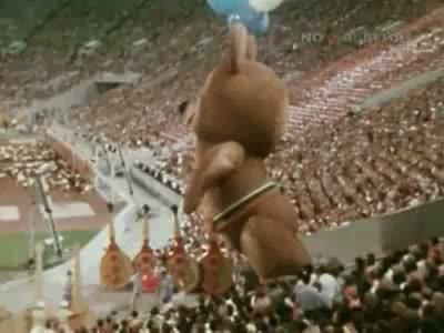 Закрытие Олимпиады-80 в Москве