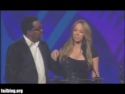 Mariah Carey Fail