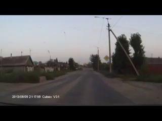 Авария в Троицке