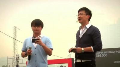Китаец на MINI побил рекорд по параллельной парковке