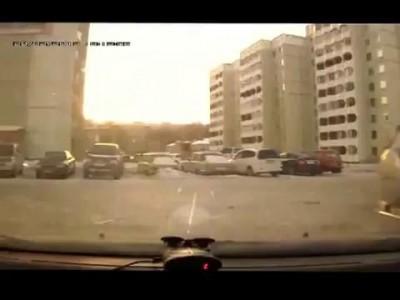Разборка на дороге