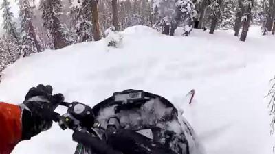 GoPro: Snowmobile drор