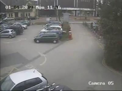 Barrier Gate vs. Car