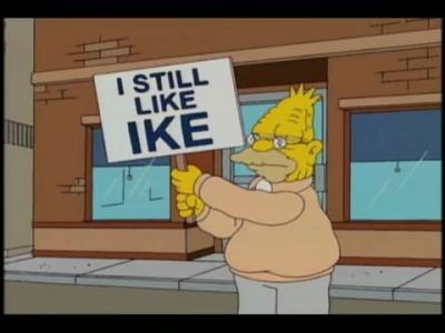 Гомер голосует за Обаму