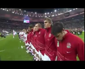 Они поют гимн своей страны