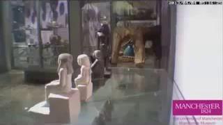Статуя бога Осириса ожила в музее