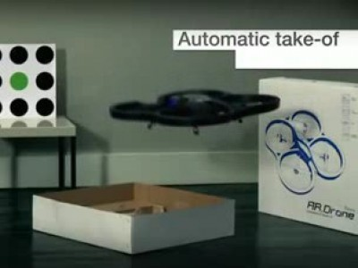 Parrot AR.Drone : Flight Demo