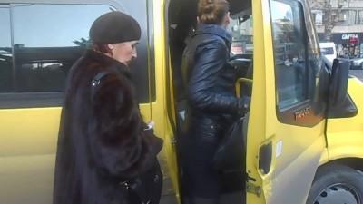 Пассажирки тбилисских маршруток