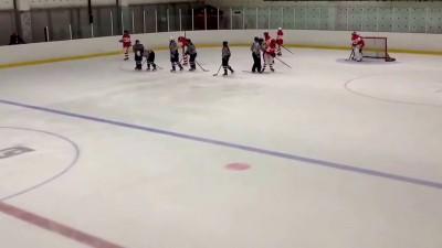 Юная российская хоккеистка сломала клюшку о голову