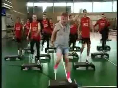 Тренировка Манчестера!