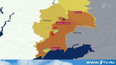 Группировка украинских военных попала в окружение