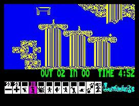 Lemmings (ZX Spectrum) 1991
