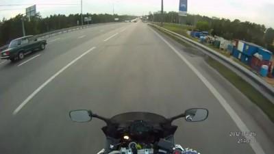 Драма с мотоциклистом