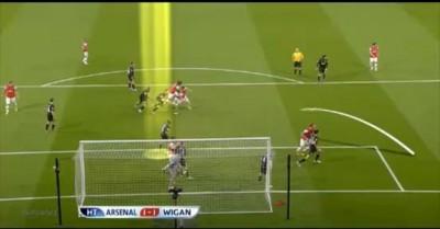 АПЛ. 37-тур Арсенал (Лондон) – Уиган Атлетик (Уиган) – 4:1