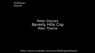 Peter Dances To The Entire Beverly Hills Cop Theme HD