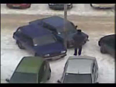 Акция возмездия на парковке