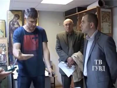 изъятие икон мэра Евгения Ройзмана. оперативное видео