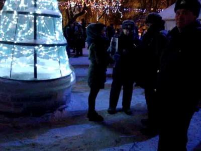 протест киров олимпийский огонь 6 января 2014