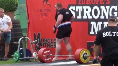 Установил новый мировой рекорд в тяге 461 кг.
