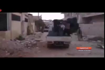 Неудачные моменты применения боевиками оружия