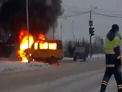 Взрыв пассажирской газели в Уфе!
