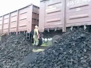 Разгрузка угля