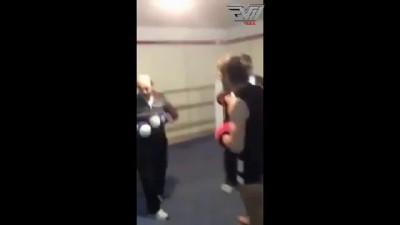 Old man shows some major skills!