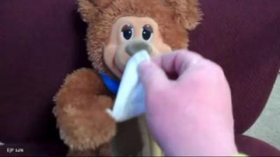Оргазмирующий медведь
