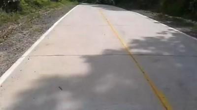 Езда на скутере без рук. Я не сцу.