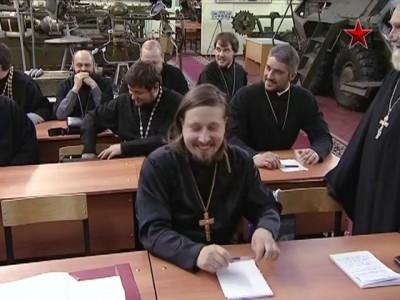 Священников научат воевать