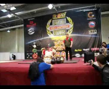 Чемпион и рекордсмен России по пауэрлифтингу