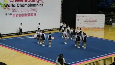 Китайские черлидерши