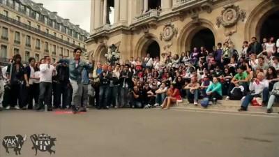 Танцевальный батл в Париже