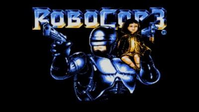 Nostalgic Kolt: 8-bit RoboCop 3 - Title Screen