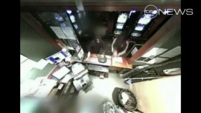 Ограбление гостиницы в Австралии