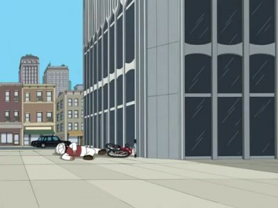 terrorist on a bike from family guy