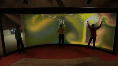 Большой экран - тачскрин