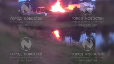 У горящего бензовоза в Кемерове били людей