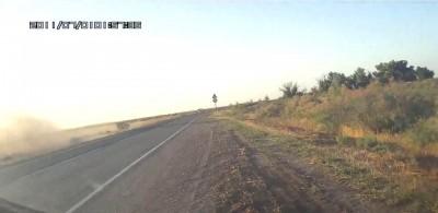 Авария на трасса Астрахань -Лиман
