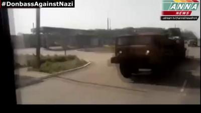Луганск. Тяжёлая артиллерия карателей едет штурмовать город!