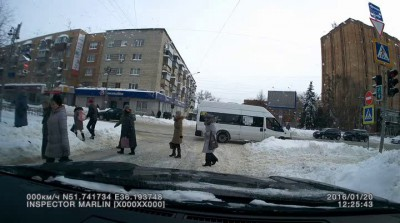 ДТП в Курске 20 января